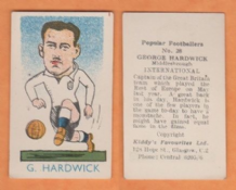 England George Hardwick Middlesbrough